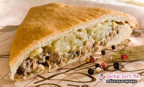 Пирог из сайры: рецепты рыбной выпечки