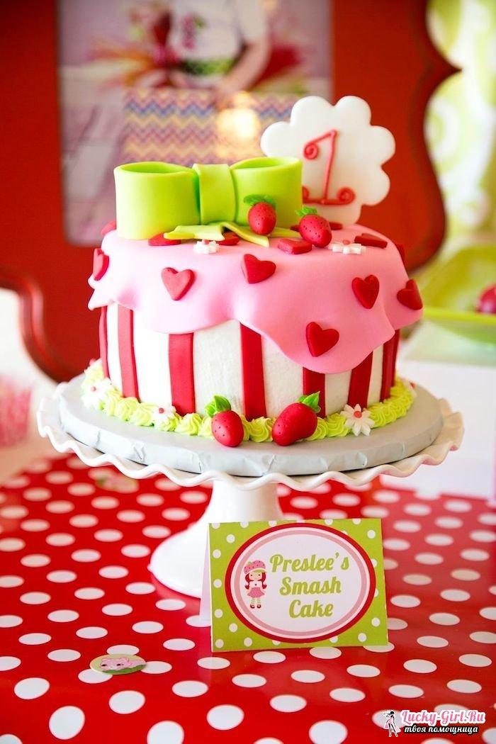 Украшение торта мастикой на день рождения
