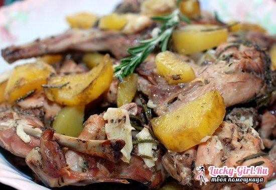 Как вкусно приготовить зайца: рецепты в духовке и мультиварке