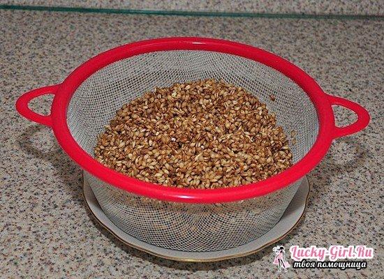 Пшеничная каша в мультиварке на воде и молоке