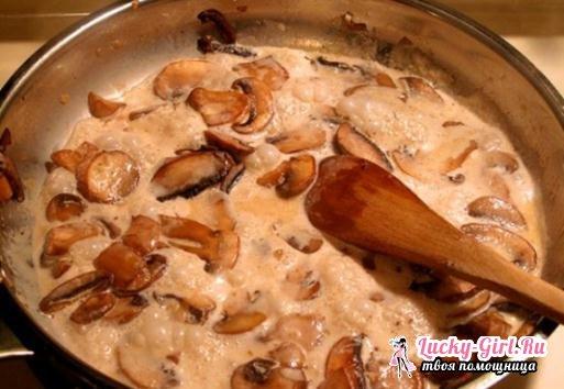 Как жарить белые грибы? Старые и новые рецепты жареных белых грибов