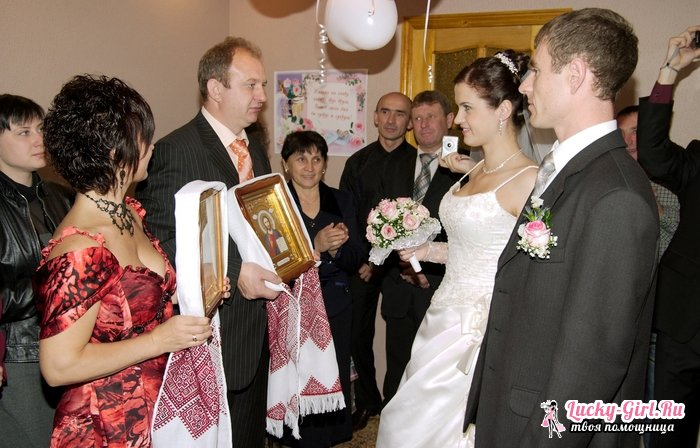 Благословение сына перед свадьбой слова матери