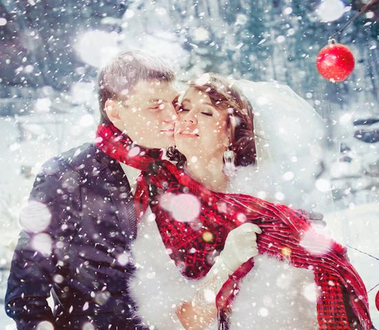 Свадьба зимой: идеи. Что надеть зимой на свадьбу?