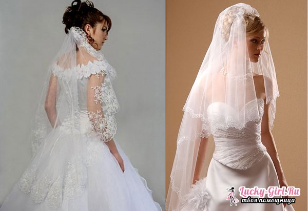 Фата невесты своими руками фото