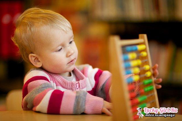 Как научить ребенка считать? Способы обучению счету до 10, 100 и далее