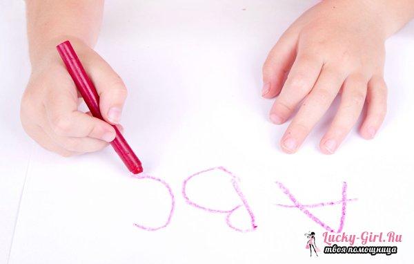 Как написать красивые буквы? Техника выработки хорошего почерка