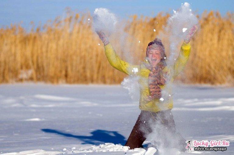 Идеи для зимней фотосессии. Зимняя фотосессия в студии или на природе: как организовать?
