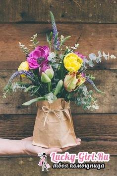 Как упаковать цветы? Упаковка букетов: основные правила и оригинальные идеи