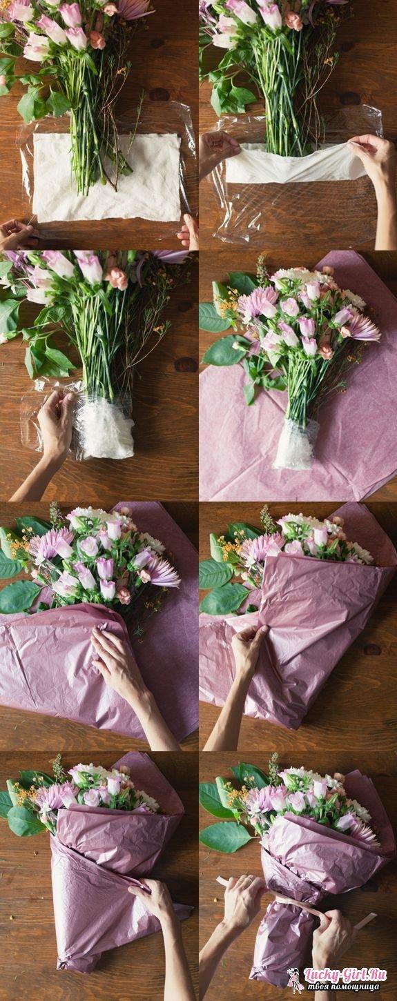 Как сделать цветы своими 97