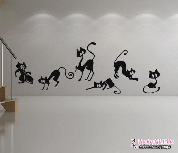 фото трафареты на стену