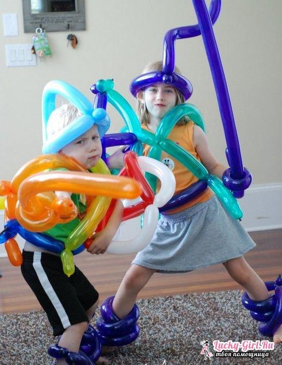 Как сделать меч из шарика?