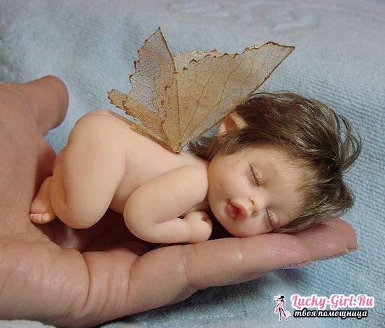 Куклы из полимерной глины своими руками
