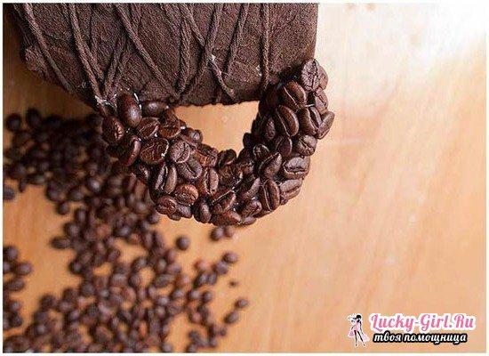 Поделки из кофейных зерен своими руками: мастер-классыP