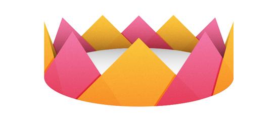 Как сделать из бумаги корону?
