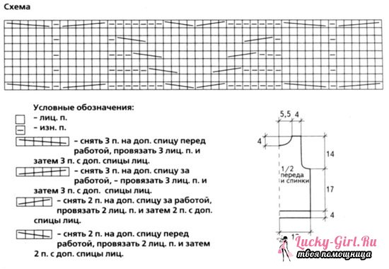 Жилетка спицами для девочки: схемы с описанием