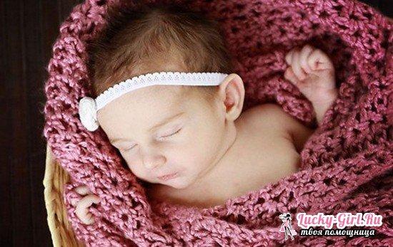 Вязаный плед для новорожденного спицами: схемы