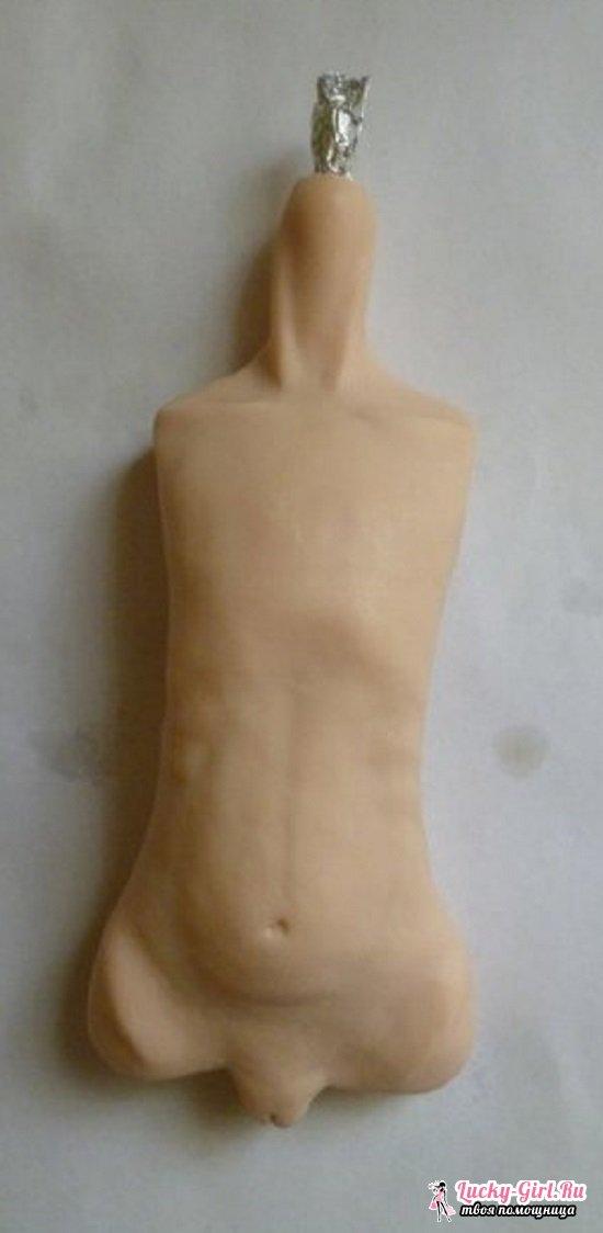 Шарнирная кукла: как сделать игрушку своими руками для начинающих?