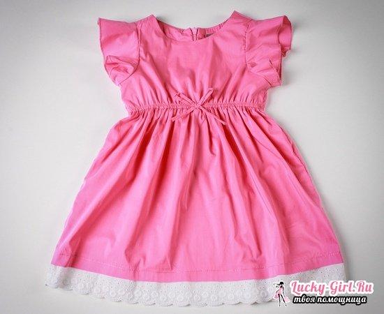Выкройки платьев для девочек с оборками фото 870