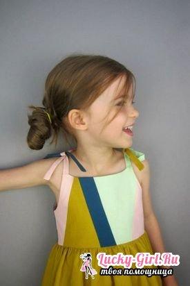 Выкройка сарафана для девочки своими рукамиPP