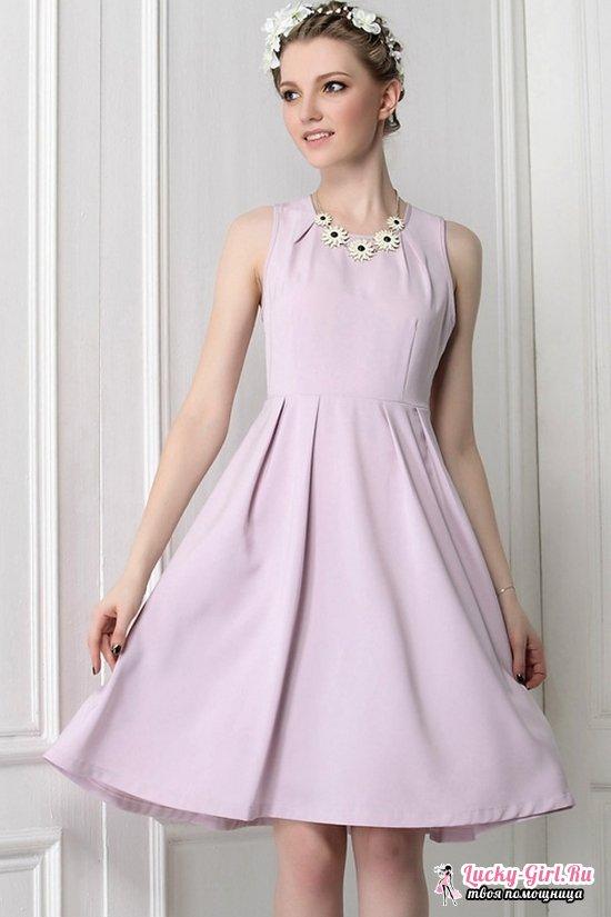 Выкройка платьев с завышенной талией: пошаговое описание процесса