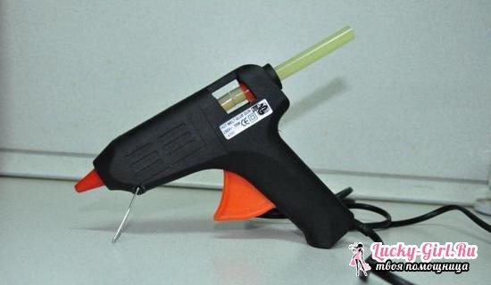Клеевой пистолет для рукоделия: как выбрать и правильно пользоваться инструментом?