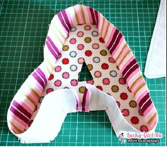 Как сшить буквы-подушки своими руками: пошаговый мастер-класс