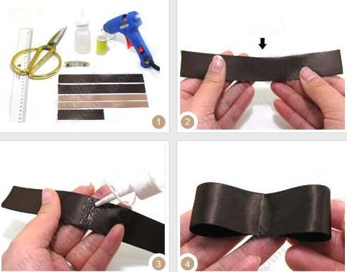 Заколки из лент своими руками. Как сделать аксессуар для волос из различных видов ленты?