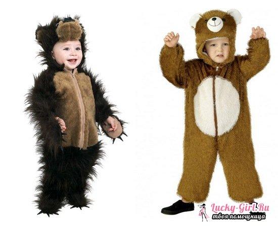 Костюм медвежонка своими руками выкройка 901