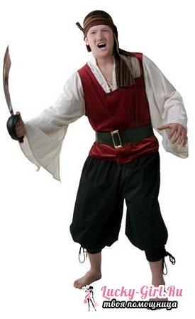 Костюм пирата своими руками: варианты создания образа и фото
