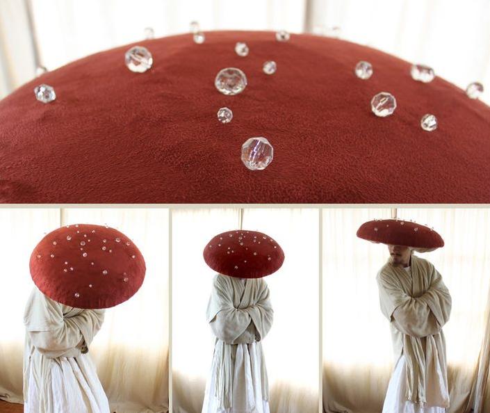 Как сделать шапку мухомора: изготовление моделей из ткани, картона или бумаги