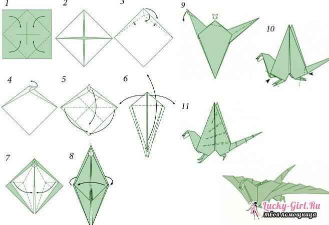 Как сделать из бумаги поделку без клея