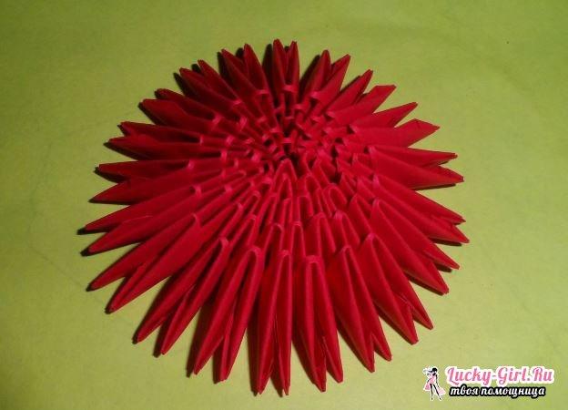 Сердце оригами. Способы изготовления и простые схемы