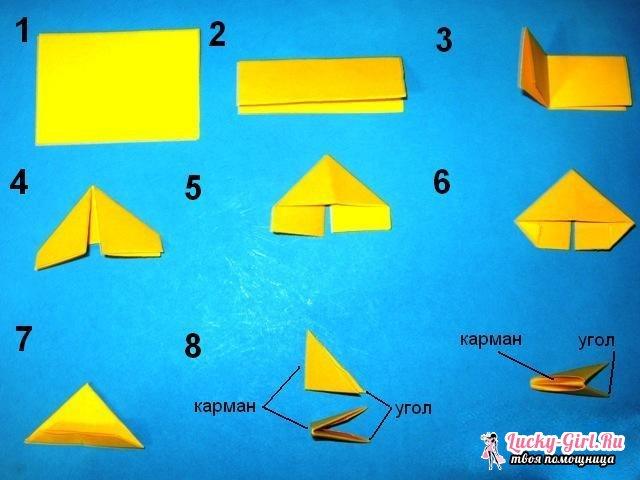 Оригами лотос: схема изготовления. Модульное оригами: как сделать лотос?