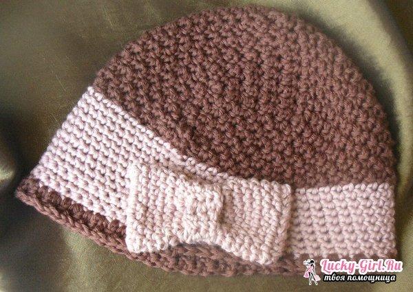Шляпа крючком: простая схема. Как связать шляпу крючком?