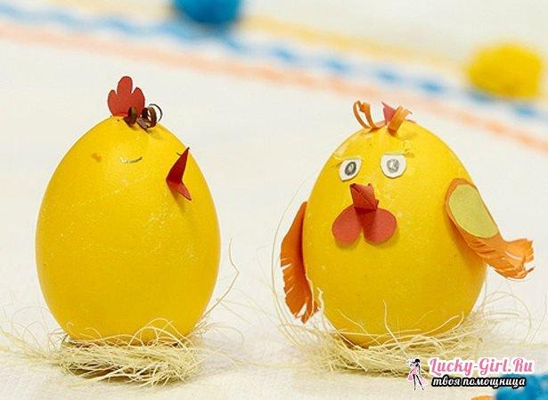 Поделки из яиц: как изготовить? Как сделать яйцо пустым?