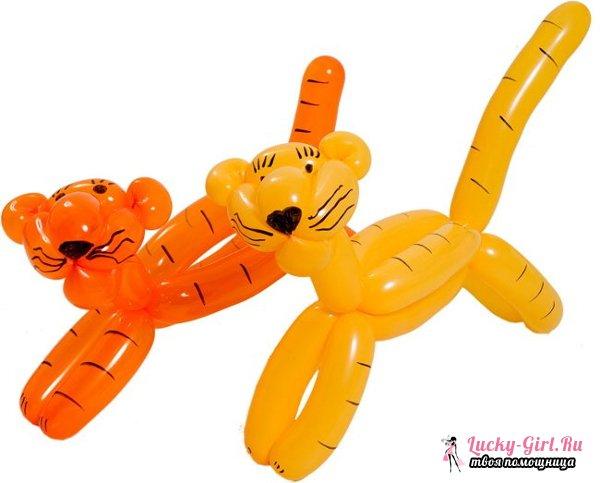 Как сделать фигуры из шаров своими руками? 2 фигуры из шаров: мастер класс