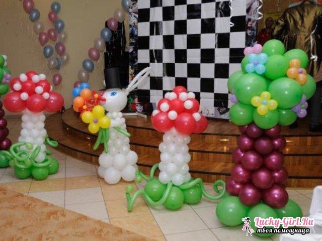 Фигуры из шаров своими руками. Как сделать фигуры из шаров?