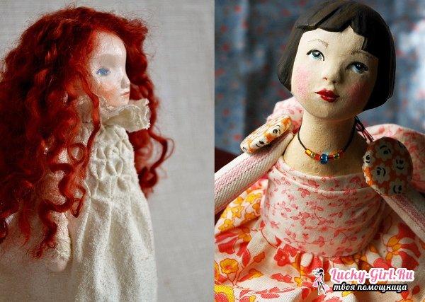 Изготовление куклы из папье маше: мастер класс и особенности техники
