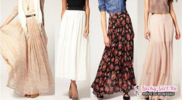 Как сшить юбку на осень самостоятельно? Пошив юбок различных фасонов