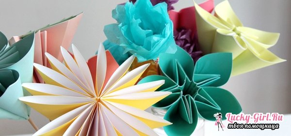Поделки из цветной бумаги своими руками. Объемные поделки из цветной бумаги