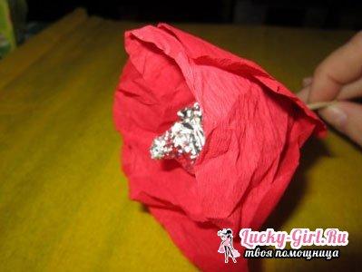 Подарки своими руками из конфет