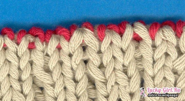 Как закончить вязание спицами? Приемы завершения изделия