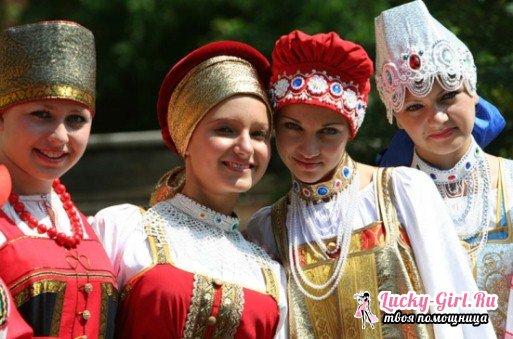 Как сшить русский народный сарафан?