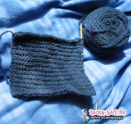 Узоры для вязания шарфа спицами