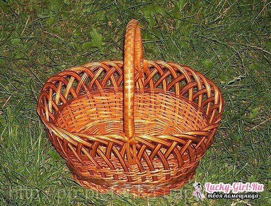 Плетение корзин из ивы