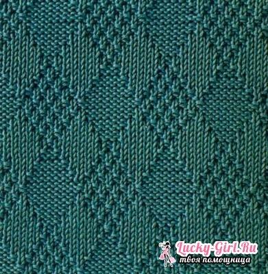 Вязание спицами: узоры для начинающих