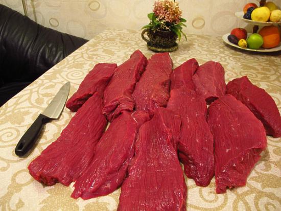 Мясо лося: польза и вред. Какие паразиты могут быть в лосятине?
