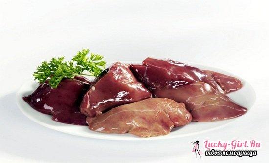 Печень куриная: польза и вред, калорийность и состав продукта. Какая печень полезнее - куриная или говяжья?