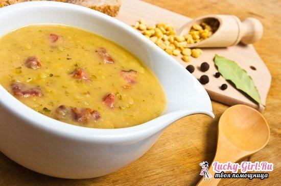 Гороховый суп в мультиварке Поларис: рецепты с фото вкусного первого блюда