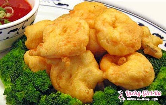 Цветная капуста в кляре: рецепты с фото. Как приготовить свежий и замороженный овощ вкусно?